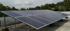 5 kW Grid Tied Solar Power Plant 3 Phase