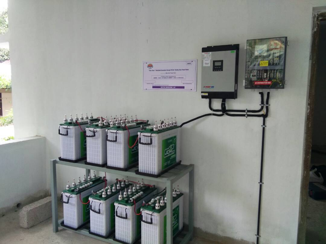2 Kw Off Grid Solar Project 7200 Whr Power Plants By Electronic Projects Electrical