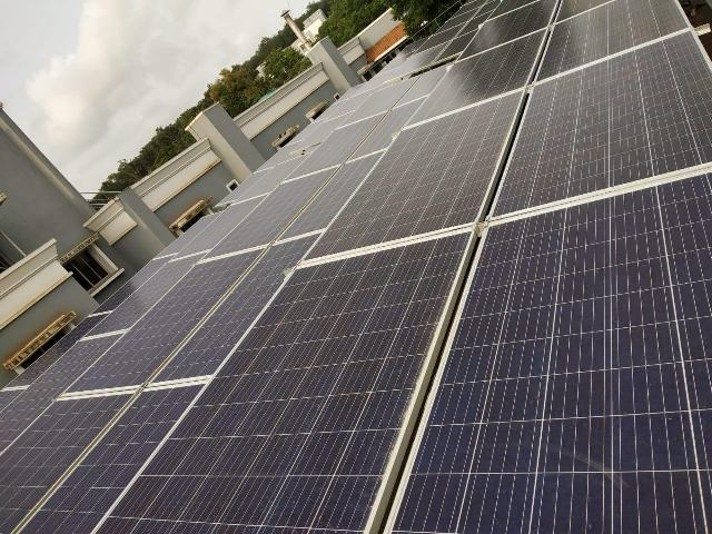 50 kWp Grid tied Solar Power Plant ABB TM 50