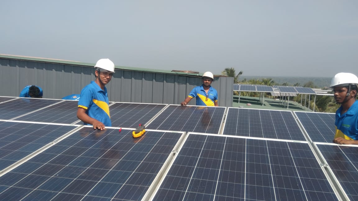 5 kW OFF GRID SOLAR PROJECT 7200 Whr/kW