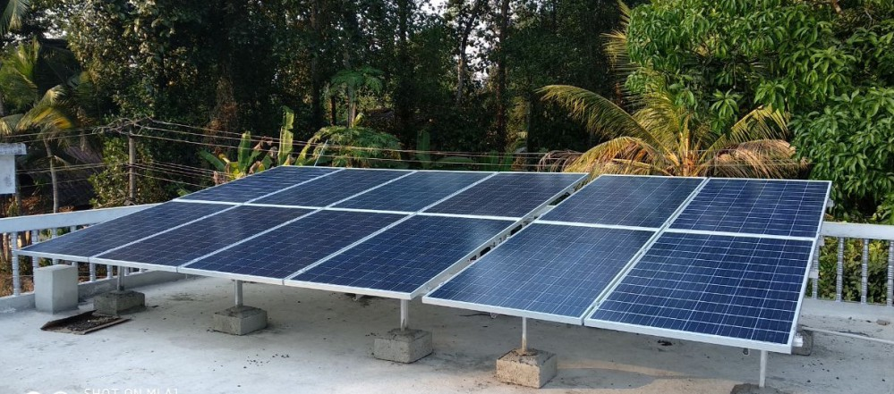3kW On Grid Solar Power Plant