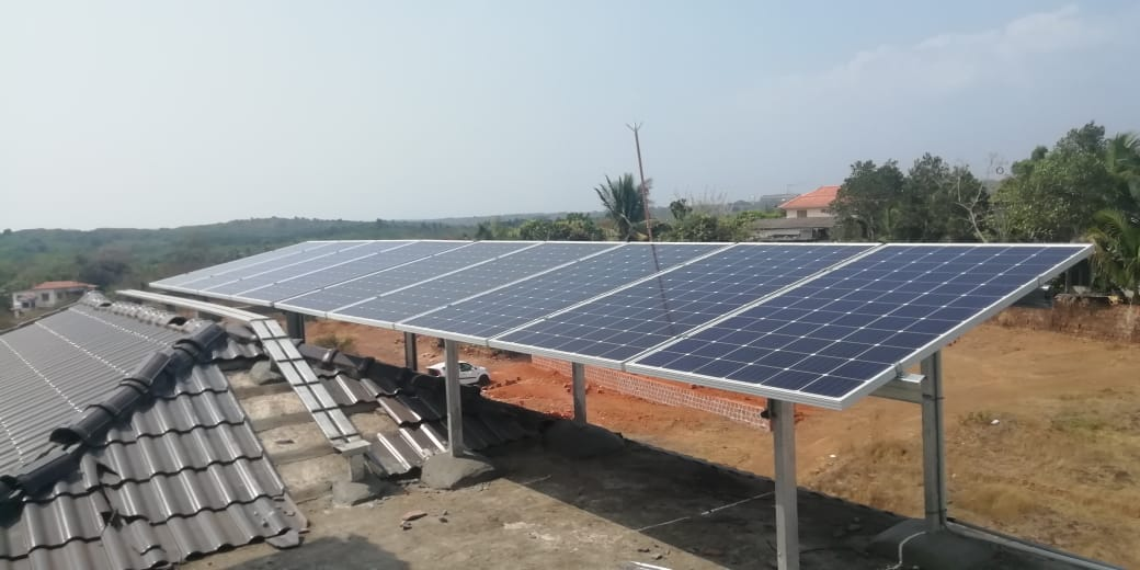 10 kW 3 Phase Grid Tied Solar Power Plant (SNES2 VF-2)