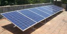 2KW GRID TIED SOLAR POWER PLANT 1 PHASE