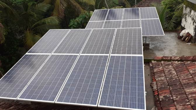 10kWp Three Phase Solar Grid Tied Power Plant (SNES2 GF1)