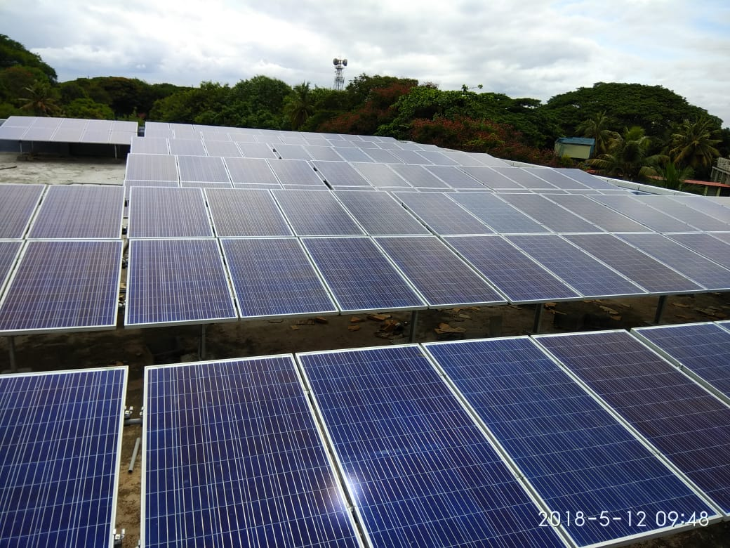 5 kWp 3Phase Grid Tied Solar Power Plant(SNES2 LG01)