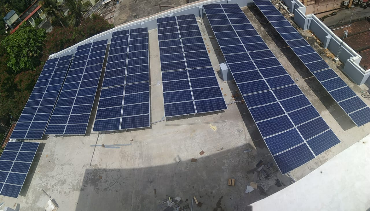 50 kWp Grid Tied Solar power plant (SNES-KW-08)